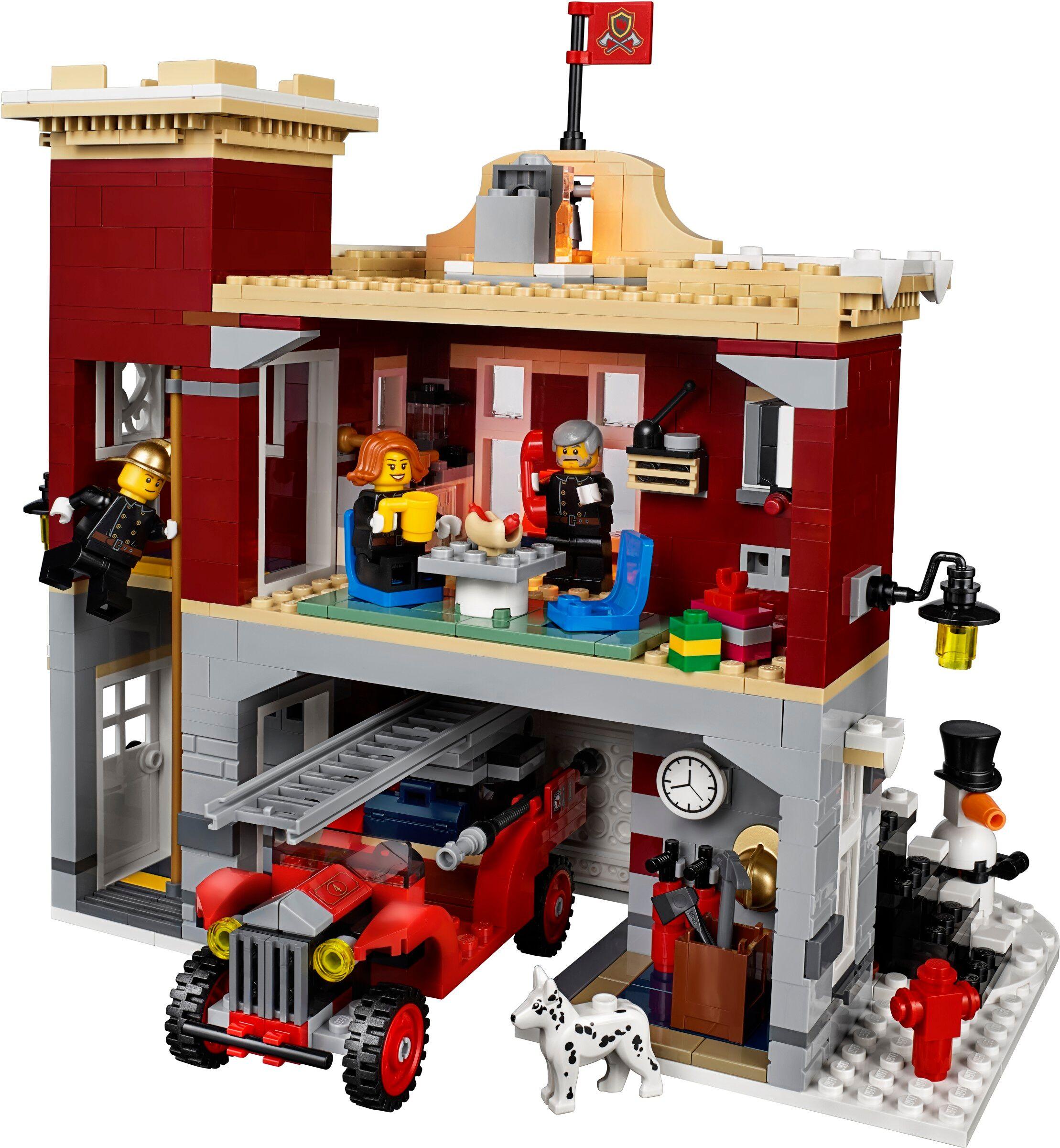 Lego Creator Winter Village Fire Station (10263)