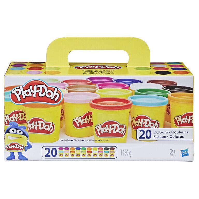 Play-Doh Super Color Pack w. 20 Cans (A7924EU70)