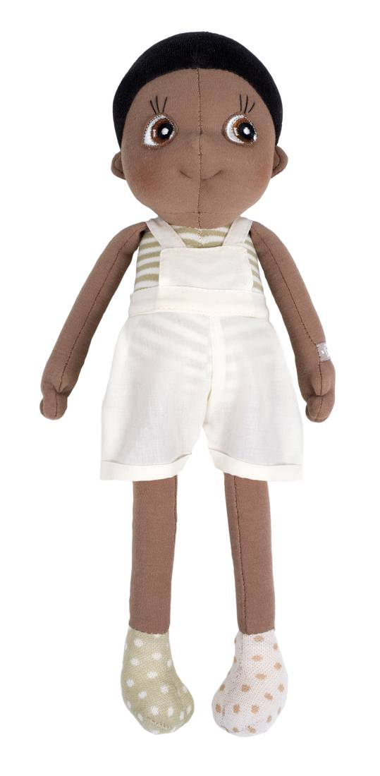 Rubens Barn orgaaninen EcoBuds-nukke, Fern