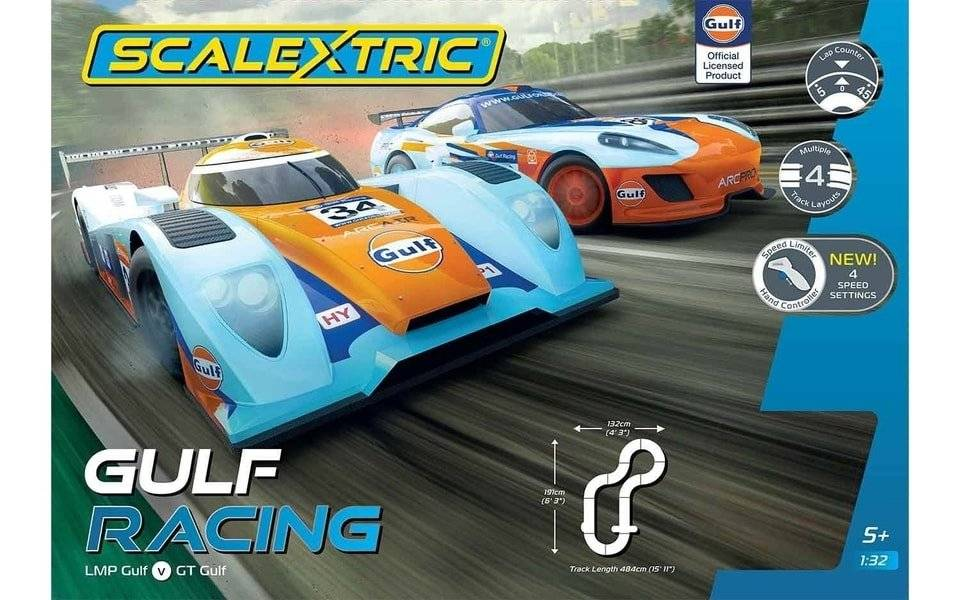 Scalextric Gulf Racing (GT v LMP) (460892)