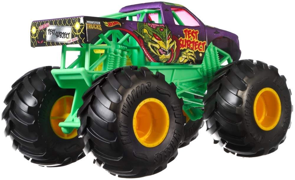 Hot Wheels Monster Trucks 1:64 Test Subject (GBT82)