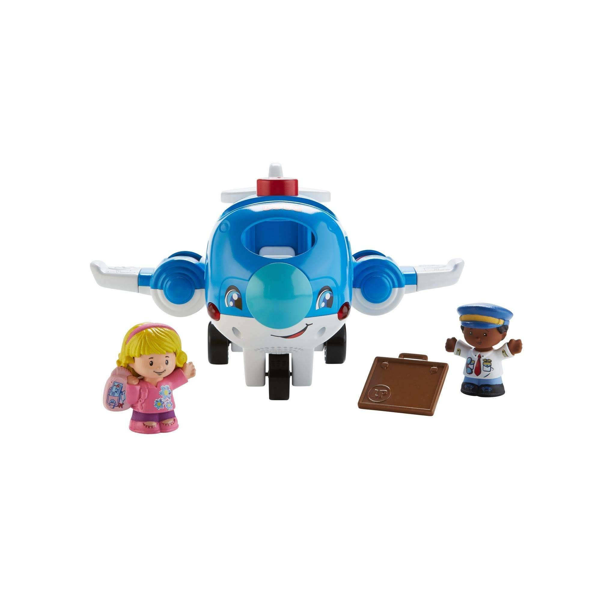 Fisher-Price People Travle Together Airplane (danish) (FMT31)