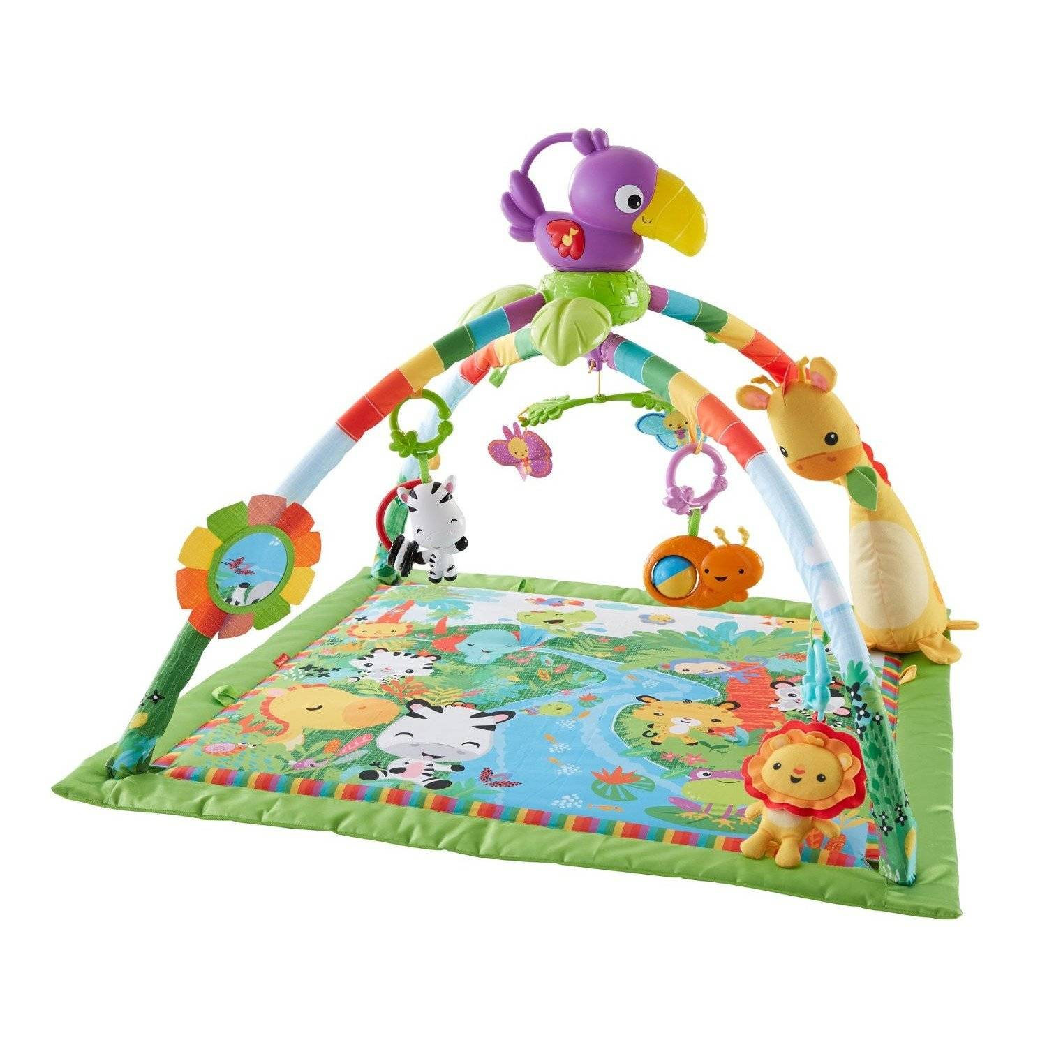 Fisher-Price Musical and Lights Deluxe Gym (DFP08)