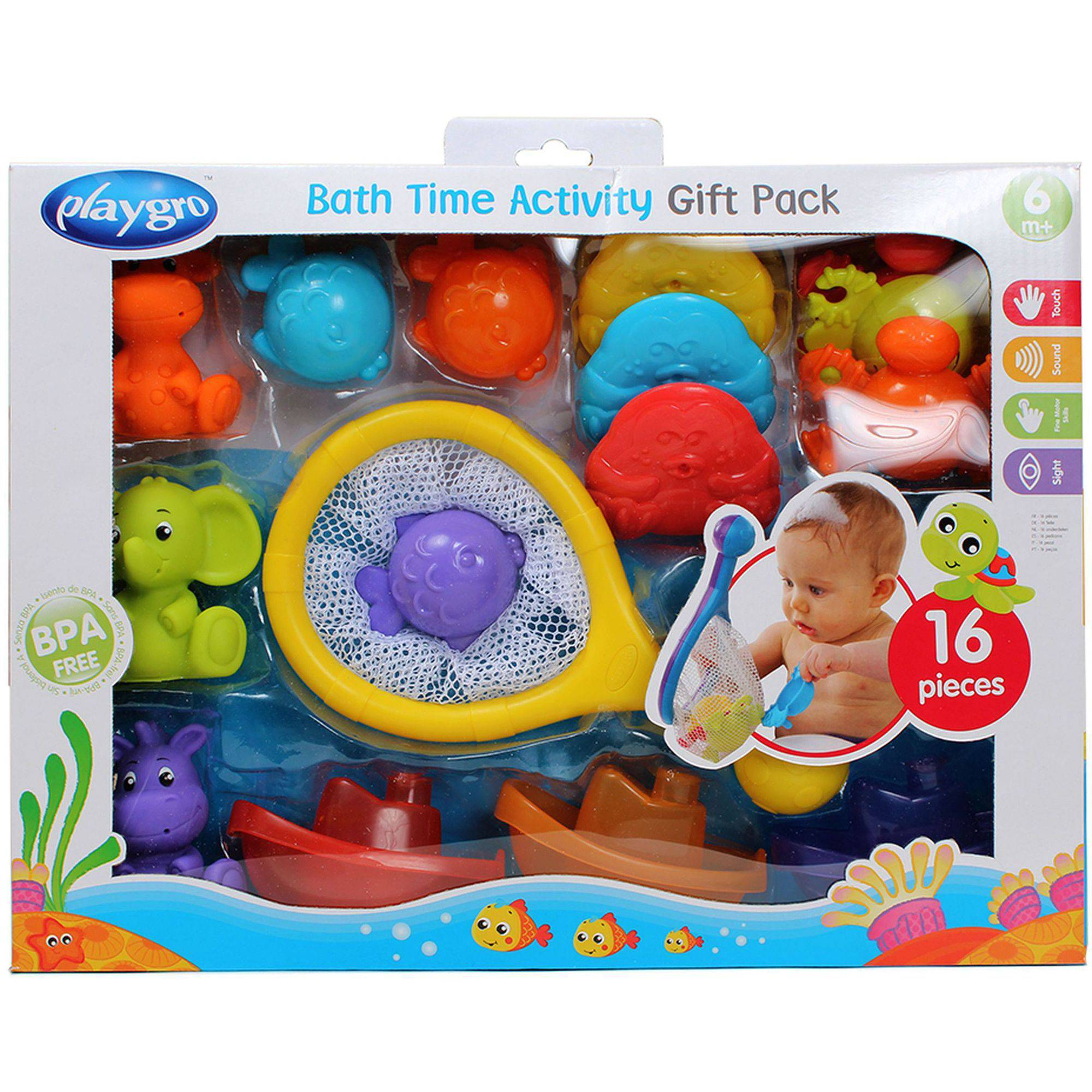 Playgro Bath Time Activity Pack (0187486)