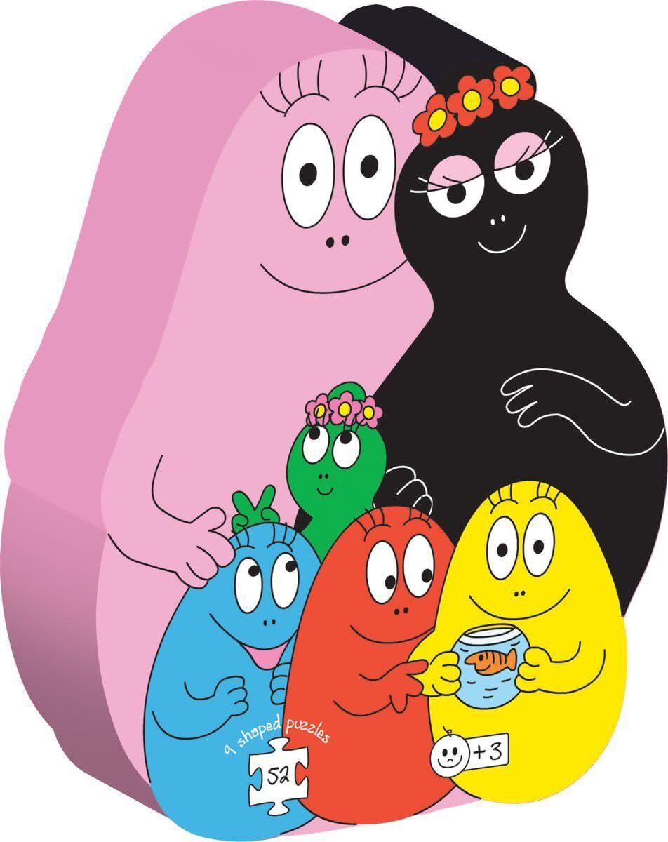 Barbo Toys Puzzle Barbapapa Family (9 shaped puzzles) (2209)