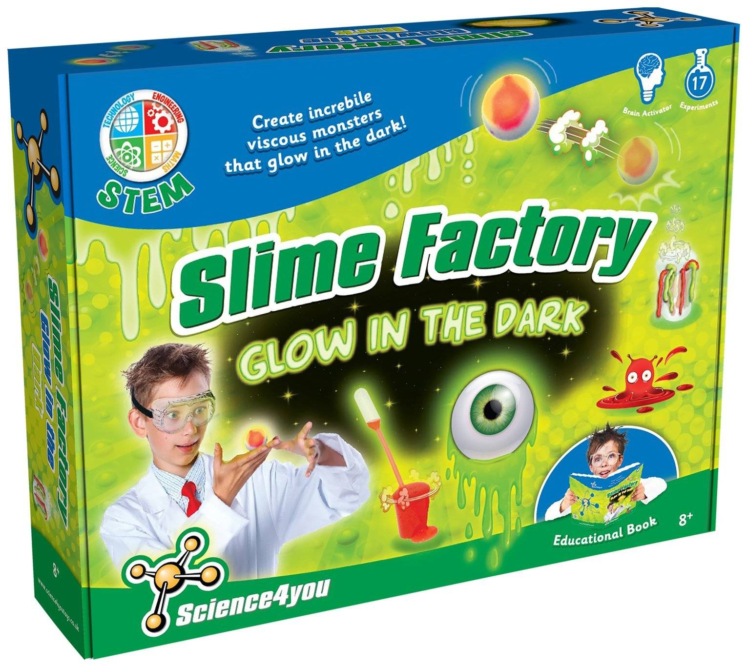 Science4you Glow Slime (50-00006)