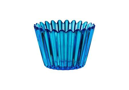 Kosta Boda Cupcake Kynttilälyhty D: 86mm, Sininen