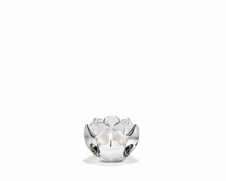 Holmegaard Lotus Kynttilälyhty 6,5 cm, Läpinäkyvä