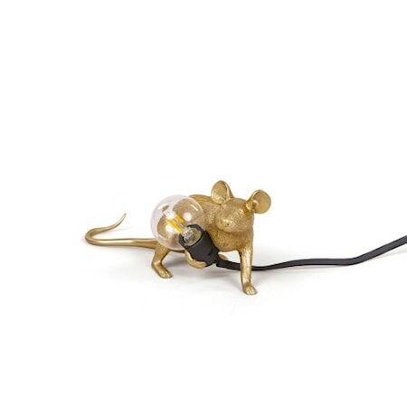 SELETTI Mouse Valaisin Lop - Kulta