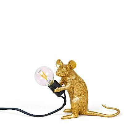 SELETTI Mouse Valaisin Mac - Kulta