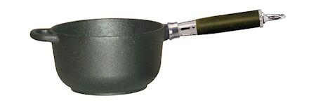 Ronneby Bruk Kastikekattila 2 l, ei kantta, Comfort Line Ø18x10 , kahva ruostumatonta terästä/silikonia