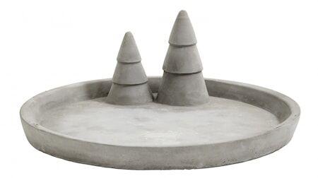 Nordal Tarjotin X-mas Cement Large