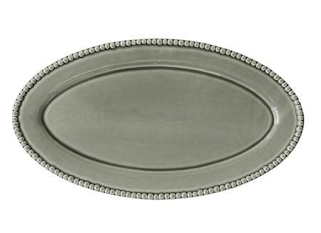 PotteryJo DARIA soikea lautanen vaaleanvihreä 50 cm