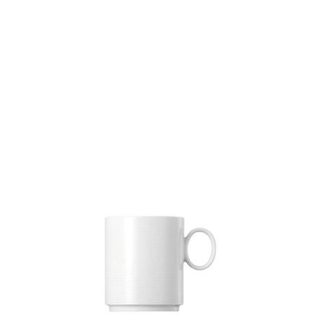 Rosenthal Loft Valkoinen Uso Muki kahvalla, pinottava, 38 cl