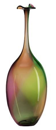 Kosta Boda Fidji vihreä pullo 45 cm