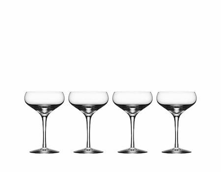 Orrefors More Coupe 21 cl 4-pack