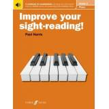 Improve your sight-reading! Piano Grade 3 by Paul Harris