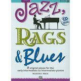 Jazz, Rags & Blues, Bk 2 by Martha Mier