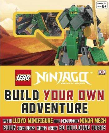 Image of Lego (R) NINJAGO (R) Build Your Own Adventure by DK