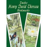 Twelve Henry David Thoreau Bookmark by Henry David Thoreau