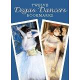 Twelve Degas Dancers Bookmarks by Edgar Degas