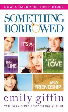 Image of Something Borrowed by Emily Giffin