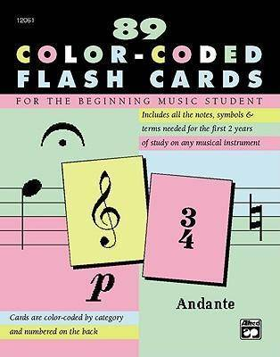 Complete Color Coded Flash Cards by Alfred Music