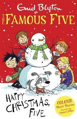 Famous Five Colour Short Stories: Happy Christmas, Five! by Enid Blyton