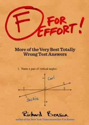 F for Effort! by Kamens Richard Benson