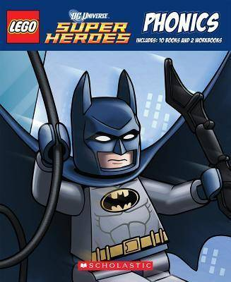 Lego DC Universe Super Heroes Phonics Boxed Set by Quinlan B Lee