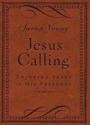 Jesus Calling (Brown Leathersoft) by Sarah Young