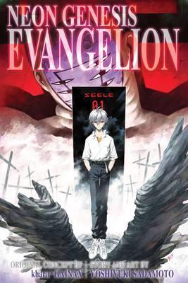 Neon Genesis Evangelion 3-in-1 Edition, Vol. 4 by Yoshiyuki Sadamoto