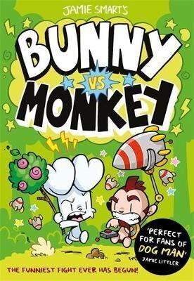 Bunny vs Monkey by Jamie Smart