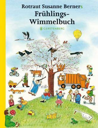 Fruhlingswimmelbuch by Rotraut Susanne Berner