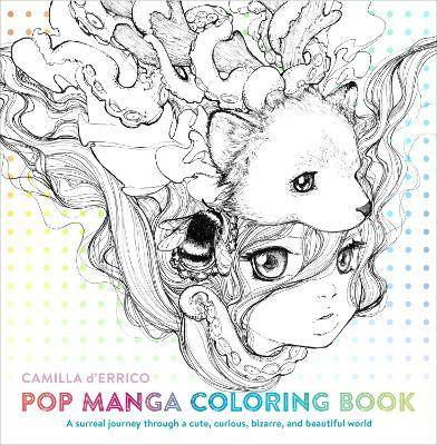 Pop Manga Coloring Book by Camilla D