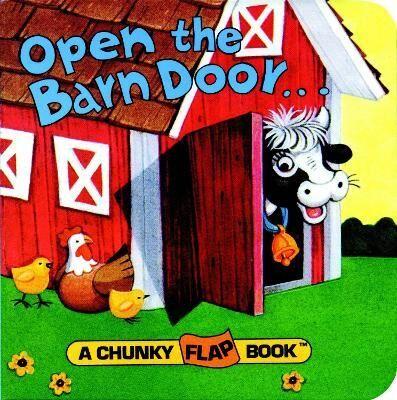 Image of Open the Barn Door Chunky Flap Bk by Christopher Santoro