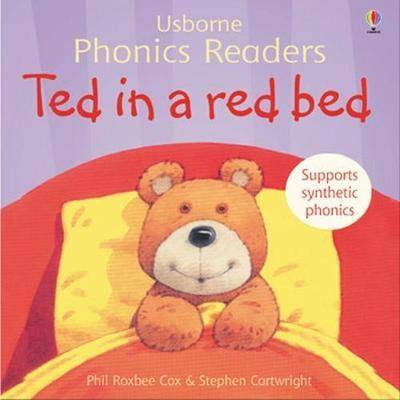 Ted In A Red Bed Phonics Reader by Phil Roxbee Cox