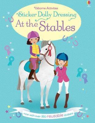 Sticker Dolly Dressing At the Stables by Lucy Bowman