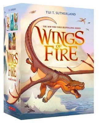 Wings of Fire 1-5 Boxed Set by T Tui Sutherland