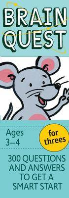 Image of Garmin Brain Quest for Threes, Revised 4th Edition by Chris Welles Feder