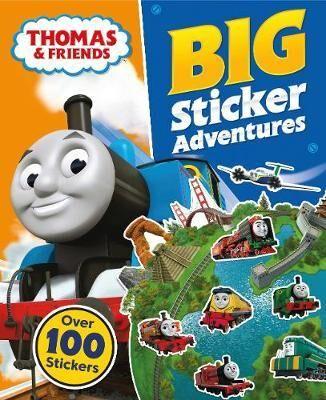 Thomas & Friends: Big Sticker Adventures by Egmont Publishing UK