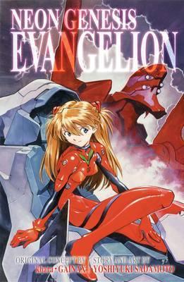 Neon Genesis Evangelion 3-in-1 Edition, Vol. 3 by Yoshiyuki Sadamoto
