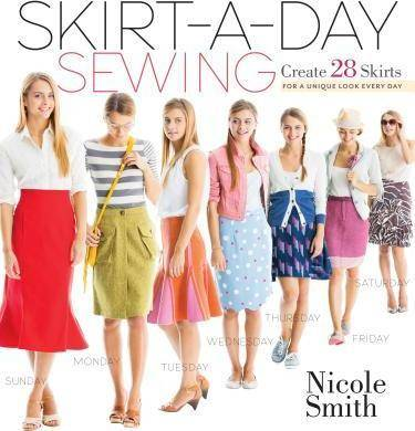 Image of Skirt-A-Day Sewing by Nicole Smith