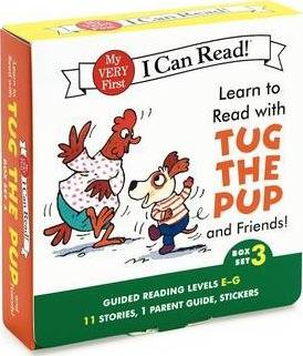 Learn to Read with Tug the Pup and Friends! Box Set 3 by Julie M. Wood