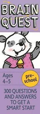 Garmin Brain Quest Preschool, Revised 4th Edition by Chris Welles Feder