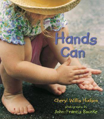 Hands Can Board Book by Willis Hudson Cheryl