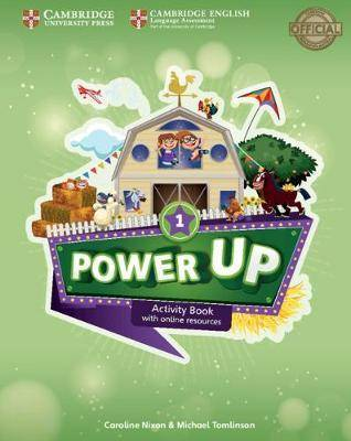 Power Up Level 1 Activity Book with Online Resources and Home Booklet by Caroline Nixon