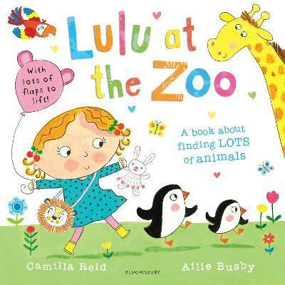 Lulu at the Zoo by Camilla Reid