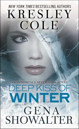 Kiss Deep Kiss of Winter by Kresley Cole
