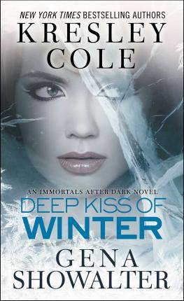 Kiss Deep Kiss of Winter by Kresley Cole